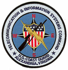 Tiscom Telecommunications Info Systems Command W4568 Uscg Coast Guard patch