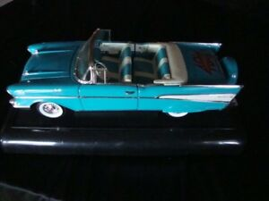 """Very RARE """"40th Anniversary"""" 57 Chevy Bel Air Convertible 1:18 """"Limited Edition"""""""
