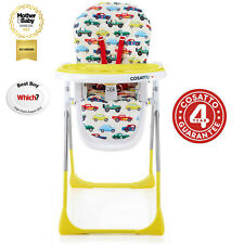 NEW COSATTO NOODLE SUPA HIGHCHAIR BABY FEEDING HIGH CHAIR REV UP