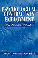 Psychological Contracts in Employment: Cross-National Perspectives-ExLibrary