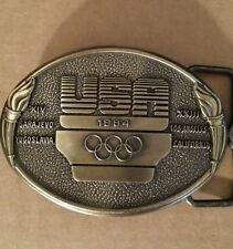 U.S.A Olympic Committee Belt Buckle
