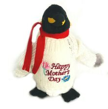 Happy Mother's Day, Mom, Penguin Plush, Stuffed Penguin, Gift, Toy
