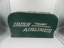 Irish International Airlines Vintage Vinyl Carry on Bag Luggage Aer Lingus