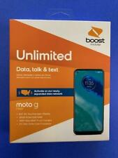 Motorola g Fast-32GB-Pearl White-Boost Mobile-New-3 Month Promotion $50-60-Plan
