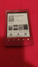 Sony PRS-T2 ,Touch Screen eReader/Tablet -Red