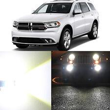 Alla Lighting Fog Light 2504 Super White 12V LED Bulbs for 2011~13 Dodge Durango
