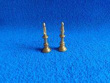 Playmobil  2 x candelabro dorado con vela chandelier candle golden Kerzen (A)