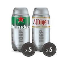 Nuova inserzione 5 Heineken TORPS + 5 Birra Affligen TORPS 10 torp di birra  da 2 lt (20 litri) dee38cb02dba