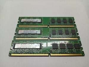 Hynix Ram PC2 6400 HYMP512U64CP8 4GB = 4 x 1gb Sticks Memory 2RX8