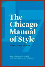 The Chicago Manual of Style, 17th Edition Seventeenth Edition [E-VERSION]