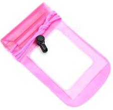 PVC plastic Waterproof mobile phone,camera,purse Bag