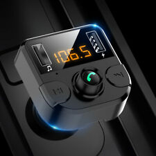 Fm Transmitter Bluetooth Car Mp3 Player Hands free Radio Adapter Kit Usb Charger