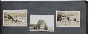 Photograph album of holidays in the Alps, Scandinavia, Holland, Ireland, in the