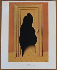 Rene Magritte  The Surprise Answer 1st Ltd Ed 1960 Litho