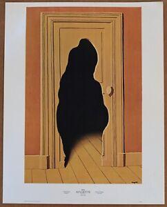 Rene Magritte  The Surprise Answer 1st Ltd Ed 1960 Litho