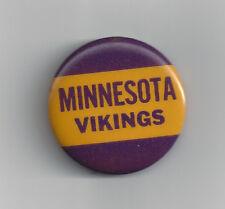 """1960's Minnesota Vikings button 1 3/4"""" pin back vintage"""