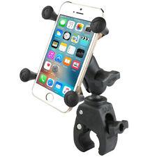 RAM Tough-Claw Handlebar Rail Mount with X-Grip for Cell Phone / Smartphone