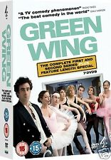 Green Wing - Complete Series 1-2 + Special (DVD)~~~Tamsin Greig~~~NEW & SEALED