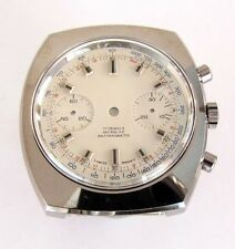 Valjoux 7733 chronographe case with dial 30 min counter. NOS, swiss made
