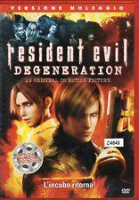 RESIDENT EVIL - DEGENERATION - DVD (USATO EX RENTAL)