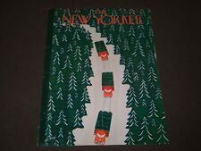 1960 DECEMBER 3 NEW YORKER MAGAZINE FRONT COVER ONLY - GREAT ART FOR FRAMING