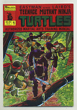Teenage Mutant Ninja Turtles Authorized Martial Arts Training Manual #1 1986 c