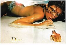 Publicité Advertising 2001 (2 pages) Eau de Toilette Dune de Dior