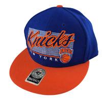 New York Knicks, Hardwood Classics, Big Logo, Snapback Hat, '47, One Size, NBA