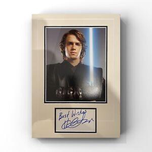 Hayden Christensen - Star Wars Actor Signed Display