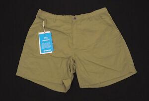 New ExOfficio Pescatore Brown Casual Hiking Utility Shorts Mens 40