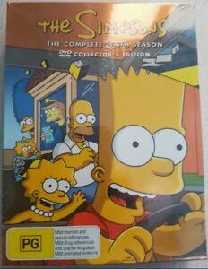 THE SIMPSONS SEASON 10 dvd set REGION 4 matt groening COMPLETE TENTH SERIES