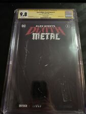 Dark Nights: Death Metal #1 CGC signed and sketch by Jeehyung Lee 3/5