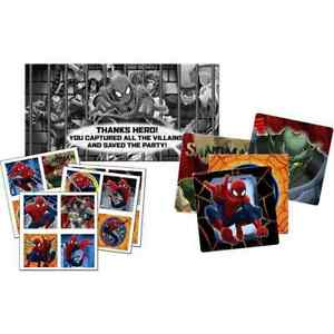 Ultimate Spider-Man Dream Marvel Superhero Birthday Party Scavenger Hunt Game
