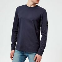 Marshall Artist Long Sleeve T-Shirt - NAVY - (SMALL) - BRAND NEW - LS Siren Tee