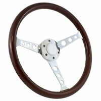 "NEW WHEEL! 1960 -1969 Chevy C10 Pick Up Truck 15"" Mahogany Steering Wheel Kit"