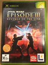 Star Wars: Episode III – Revenge of the Sith (Microsoft Xbox, 2005)
