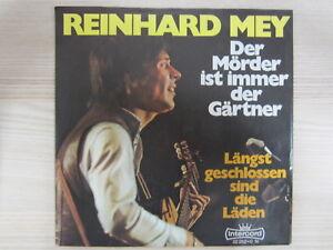 Single / Reinhard Mey – Der Mörder Ist Immer Der Gärtner / 1971 / RAR /