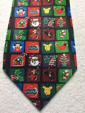 ADDICTION MENS TIE CHRISTMAS IMAGES  3.75 X 59 NWOT