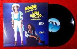 """Maxi Frank Duval & Kalina Maloyer: Liebe und Tod (aus """"Derrick"""") (Teldec) D 1986"""
