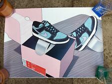 Nike Dunk Tiffany Sneaker POSTER ART PRINT 60cm x 42cm sneakers HQ kicks