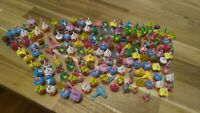 Random Shopkins Miniature Charm Figures Lot Of 8 - SEE PICS