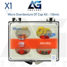 Micro Overdenture OT Cap Kit Ball Attachment Castable Dental Implant Rhein83