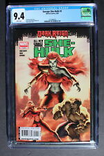 SAVAGE SHE-HULK V2 #1 1st Solo LYRA SH II Daughter of Thundra & Hulk TV CGC 9.4
