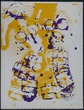 "Fernandez Arman, litografia 1971 firmata e numerata / ""L'interieur des choses"""