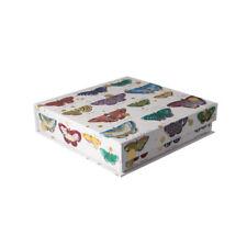 Medium Pretty Colourful Butterfly Gift/Storage Box. H5cm x W19cm x 20cm - GBS203