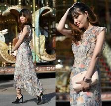 Zara Multicolor Encaje Vestido Talla Grande