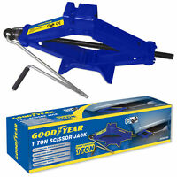 Goodyear 1 Ton Professional Scissor Jack for Car Van - Speed Wind Crank Handle
