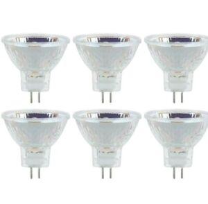 Sunlite halogen 30° Narrow Flood Light Bulb 20W 12V 2000H Life 3200K-White 6-Pk