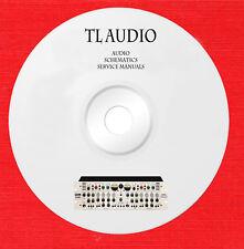 TL Audio Repair Service owner manuals on 1 dvd in pdf format