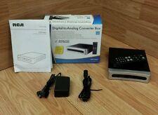 RCA (STB7766G1) Digital-to-Analog Pass-Through Converter Box w/ Remote Bundle